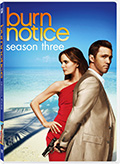 Burn Notice season three is available on DVD