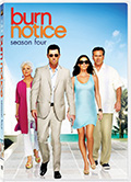 Burn Notice season four is available on DVD