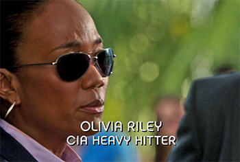Photo of Burn Notice character Agent Olivia Riley played by Sonja Sohn