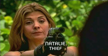 Photo of Burn Notice character Natalie Rice played by Callie Thorne