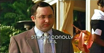 Photo of Burn Notice character Stacey Conolly played by P.J. Byrne