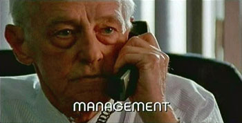 Photo of Burn Notice character Management played by John Mahoney