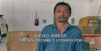 Photo of Burn Notice character Diego Garza played by Otto Sanchez