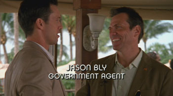 Photo of Burn Notice character Agent Jason Bly played by Alex Carter
