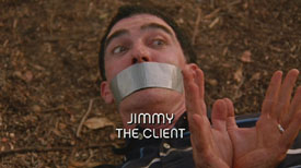 Photo of Burn Notice character Jimmy played by Patrick Fischler