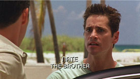 Photo of Burn Notice character Nate Westen played by Seth Peterson