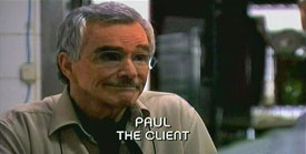 Photo of Burn Notice character Paul Anderson played by Burt Reynolds
