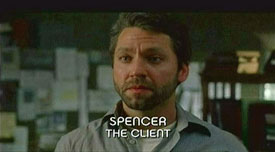 Photo of Burn Notice character Spencer Watkowski played by Michael Weston