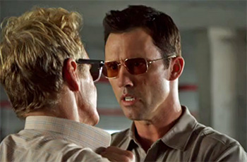 Photo of Burn Notice character Michael Westen played by Jeffery Donovan
