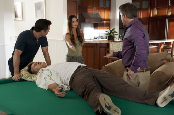 Photo of Burn Notice character Sam Axe played by Bruce Campbell
